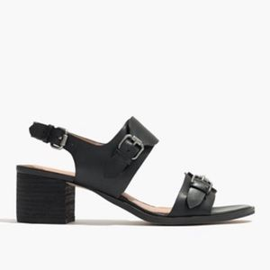 Madewell Mariel Leather Buckle Sandals